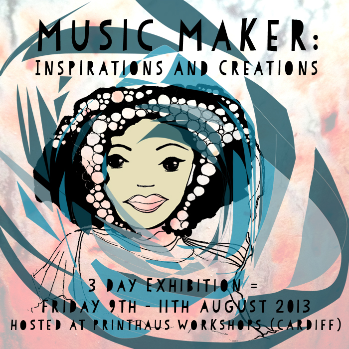 Music Maker Exhibition Flyer